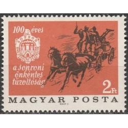 Hungary 1966. Firemans