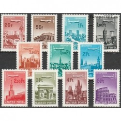 Hungary 1966. Cities and...
