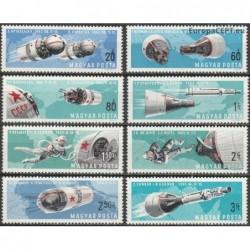 Hungary 1966. Space...