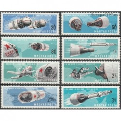 Vengrija 1966. Kosmoso...