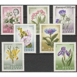 Hungary 1967. Flowers