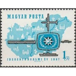 Vengrija 1967. Turizmas