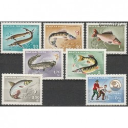 Hungary 1967. Fishes