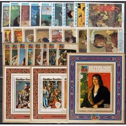 Rwanda. Paintings on stamps I