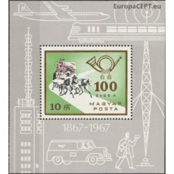 Hungary 1967. Post history