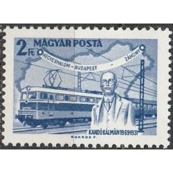 Hungary 1968. Rail transport