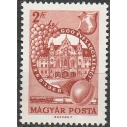 Vengrija 1968. Miestų...