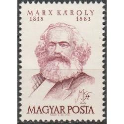 Hungary 1968. Karl Marx