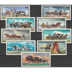 Hungary 1968. Horses