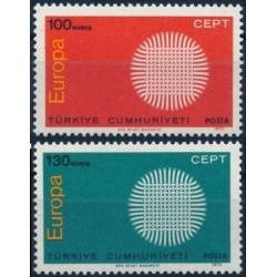 Turkey 1970. CEPT: Stylised...