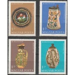 Vengrija 1968. Keramikos...
