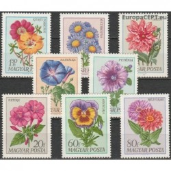 Vengrija 1968. Sodo gėlės