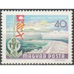 Hungary 1969. Balaton lake