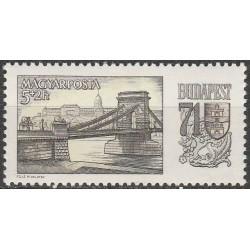Hungary 1969. Buda (bridge,...