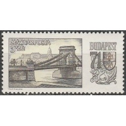 Vengrija 1969. Buda...