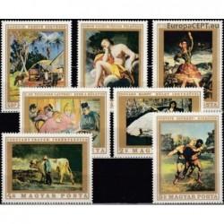 Hungary 1969. Paintings of...