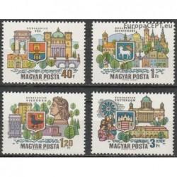 Vengrija 1969. Miestai prie...