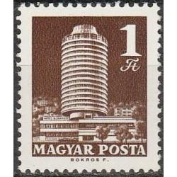 Vengrija 1970. Architektūra