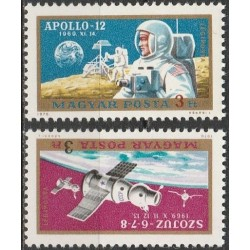 Hungary 1970. Space...