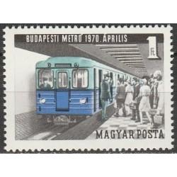 Vengrija 1970. Budapešto metro