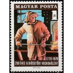Hungary 1970. Iron industry