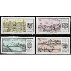 Vengrija 1971. Miestų...