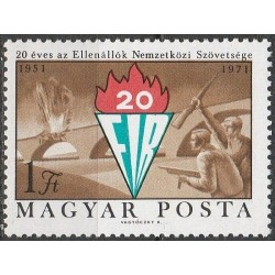 Hungary 1971. Federation of...