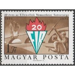 Vengrija 1971. Politinių...