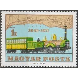 Hungary 1971. Rail transport