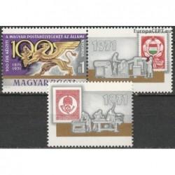 Hungary 1971. Centenary 1st...