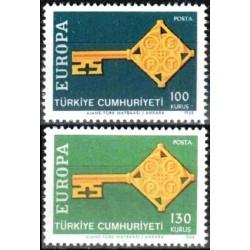 Turkey 1968. Key with CEPT...