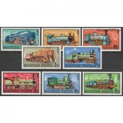 Hungary 1972. Locomotives
