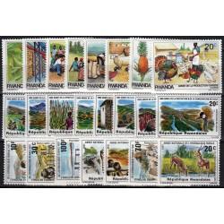 Ruanda. Fauna pašto ženkluose