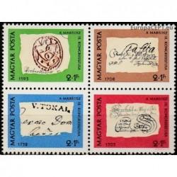 Vengrija 1972. Pašto...