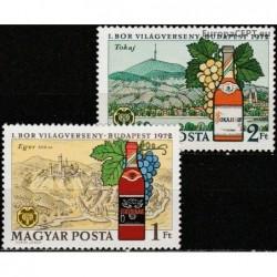 Hungary 1972. Winemaking