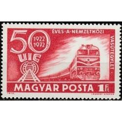 Vengrija 1972. Geležinkelių...