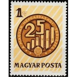 Hungary 1972. Planned economy
