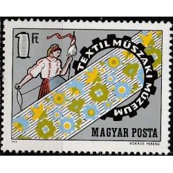 Vengrija 1972. Tekstilės...