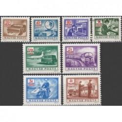 Vengrija 1973. Pašto tarnyba