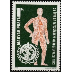 Hungary 1973. World Health...