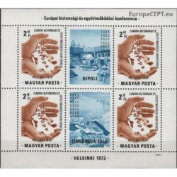 Hungary 1973. Organization...