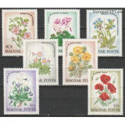 Vengrija 1973. Gėlės