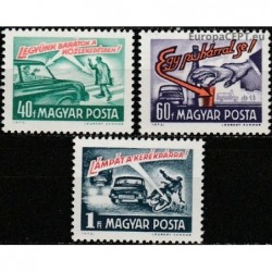 Hungary 1973. Road traffic...