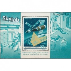 Hungary 1973. Skylab station