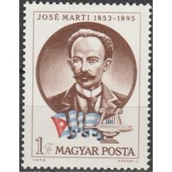 Vengrija 1973. Kubos rašytojas