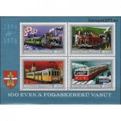 Hungary 1974. Rail transport