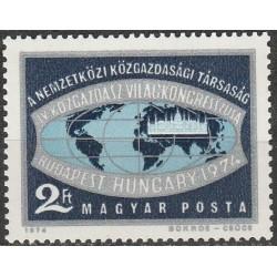 Hungary 1974. Congress