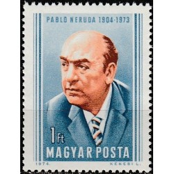 Hungary 1974. Writer (Chile)