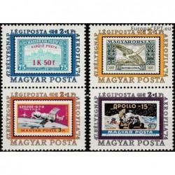 Vengrija 1974. Aviacijos...