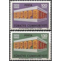 Turkey 1969. EUROPA & CEPT...